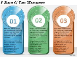 1213 Business Ppt diagram 3 Stages Of Data Management Powerpoint Template