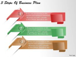 1213 Business Ppt diagram 3 Steps Of Business Plan Powerpoint Template