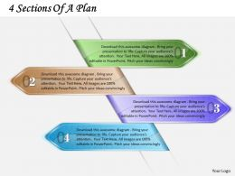 1213_business_ppt_diagram_4_sections_of_a_plan_powerpoint_template_Slide01