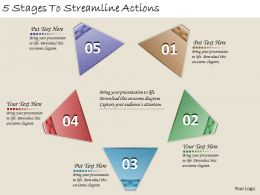 1213 Business Ppt diagram 5 Stages To Streamline Actions Powerpoint Template