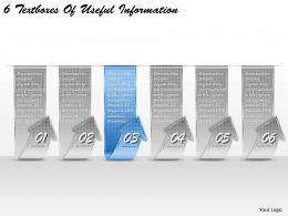 1213 Business Ppt diagram 6 Textboxes Fo Useful Information Powerpoint Template