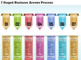 1213 Business Ppt diagram 7 Staged Business Arrows Process Powerpoint Template