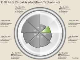 1213 Business Ppt diagram 8 Stages Circular Modelling Techniques Powerpoint Template