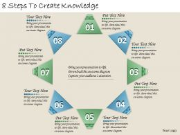 1213_business_ppt_diagram_8_steps_to_create_knowledge_powerpoint_template_Slide01