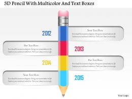 1214_3d_pencil_with_multicolor_and_text_boxes_powerpoint_template_Slide01