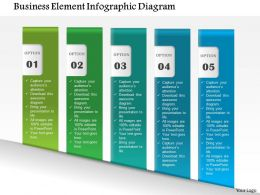 1214 Business Element Infographic Diagram PowerPoint Template