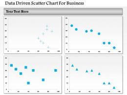 1214 Data Driven Scatter Chart For Business Powerpoint Slide