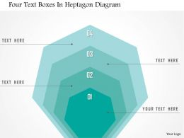 1214_four_text_boxes_in_heptagon_diagram_powerpoint_template_Slide01