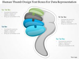 1214_human_thumb_design_text_boxes_for_data_representation_powerpoint_template_Slide01
