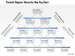 1214 Pyramid Diagram Hierarchy Map Org Chart Powerpoint Presentation