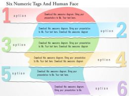 1214_six_numeric_tags_and_human_face_powerpoint_template_Slide01