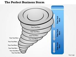 1214 The Perfect Business Storm Powerpoint Presentation