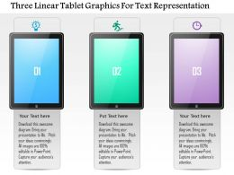 1214_three_linear_tablet_graphics_for_text_representation_powerpoint_template_Slide01