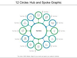 12 Circles Hub And Spoke Graphic