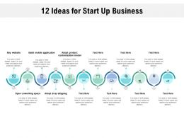 12 Ideas For Start Up Business