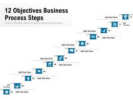 12 Objectives Business Process Steps