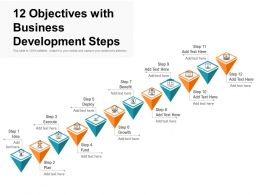 12 Objectives With Business Development Steps