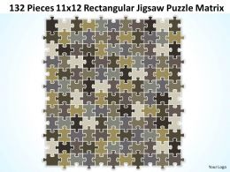 132_pieces_11x12_rectangular_jigsaw_puzzle_matrix_powerpoint_templates_0812_Slide01