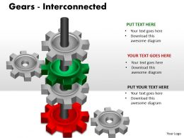 13 Gears Interconnected PPT 4