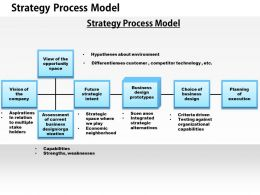 1403 Strategic Process Model Powerpoint Presentation
