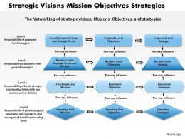 1403 Strategic Visions Mission Objectives Strategies Powerpoint Presentation