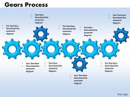 14 Gears Process 6 Stages