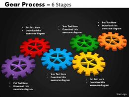 17 Gears Process 6 Stages Style 2