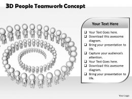 1813 3D People Teamwork Concept Ppt Graphics Icons Powerpoint