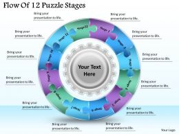 1813_business_ppt_diagram_flow_of_12_puzzle_stages_powerpoint_template_Slide01