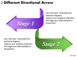 1814_business_ppt_diagram_2_different_directional_arrow_powerpoint_template_Slide01