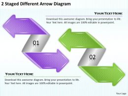 1814_business_ppt_diagram_2_staged_different_arrow_diagram_powerpoint_template_Slide01
