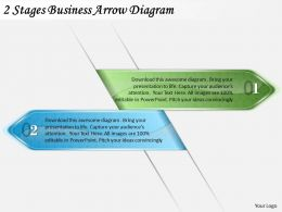 1814 Business Ppt Diagram 2 Stages Business Arrow Diagram Powerpoint Template