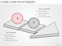 1814_business_ppt_diagram_2_step_linear_arrow_diagram_powerpoint_template_Slide02