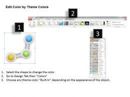 48363033 Style Circular Zig-Zag 3 Piece Powerpoint Presentation Diagram Infographic Slide