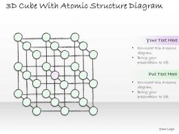 1814_business_ppt_diagram_3d_cube_with_atomic_structure_diagram_powerpoint_template_Slide01