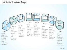 1814_business_ppt_diagram_3d_cubic_structure_design_powerpoint_template_Slide01