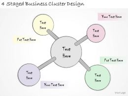1814_business_ppt_diagram_4_staged_business_cluster_design_powerpoint_template_Slide01