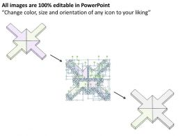 1814_business_ppt_diagram_4_staged_centralized_arrows_diagram_powerpoint_template_Slide06