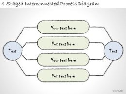 1814_business_ppt_diagram_4_staged_interconnected_process_diagram_powerpoint_template_Slide01