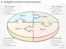 1814_business_ppt_diagram_4_staged_puzzle_circle_diagram_powerpoint_template_Slide01