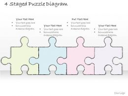 1814_business_ppt_diagram_4_staged_puzzle_diagram_powerpoint_template_Slide01