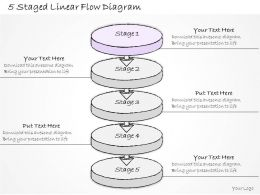 1814_business_ppt_diagram_5_staged_linear_flow_diagram_powerpoint_template_Slide02