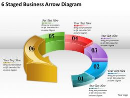 1814_business_ppt_diagram_6_staged_business_arrow_diagram_powerpoint_template_Slide01