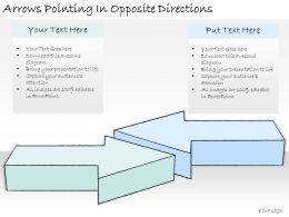 1814_business_ppt_diagram_arrows_pointing_in_opposite_directions_powerpoint_template_Slide01