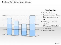 1814 Business Ppt Diagram Business Data Driven Chart Diagram Powerpoint Template