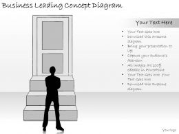 1814 Business Ppt Diagram Business Leading Concept Diagram Powerpoint Template