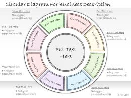 1814 Business Ppt Diagram Circular Diagram For Business Description Powerpoint Template