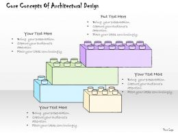 1814_business_ppt_diagram_core_concepts_of_architectural_design_powerpoint_template_Slide01