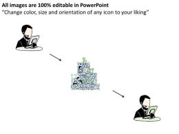 1814 Business Ppt Diagram CRM Diagram For Business Diagram Powerpoint Template
