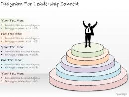 1814 Business Ppt Diagram Diagram For Leadership Concept Powerpoint Template